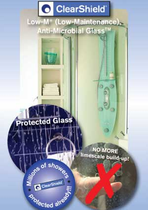 Keep your shower glass looking like new